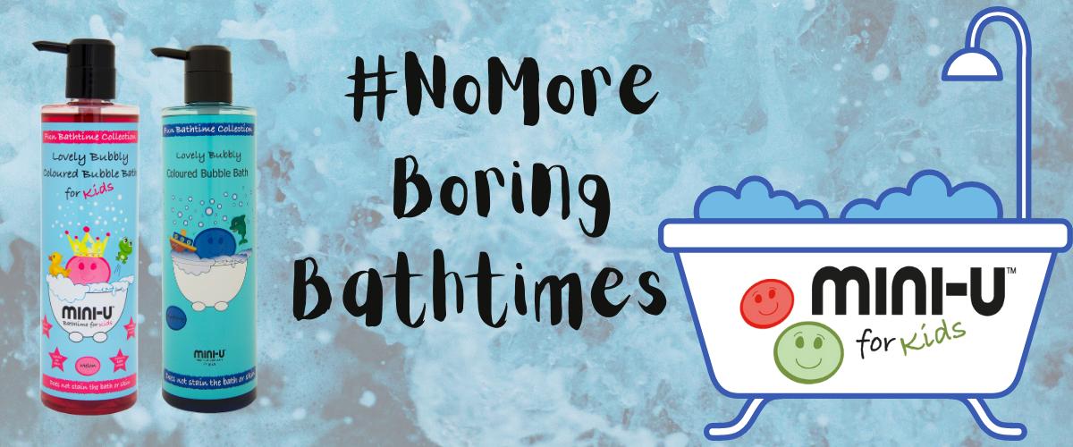 Bubble bath fun with Mini-U for Kids