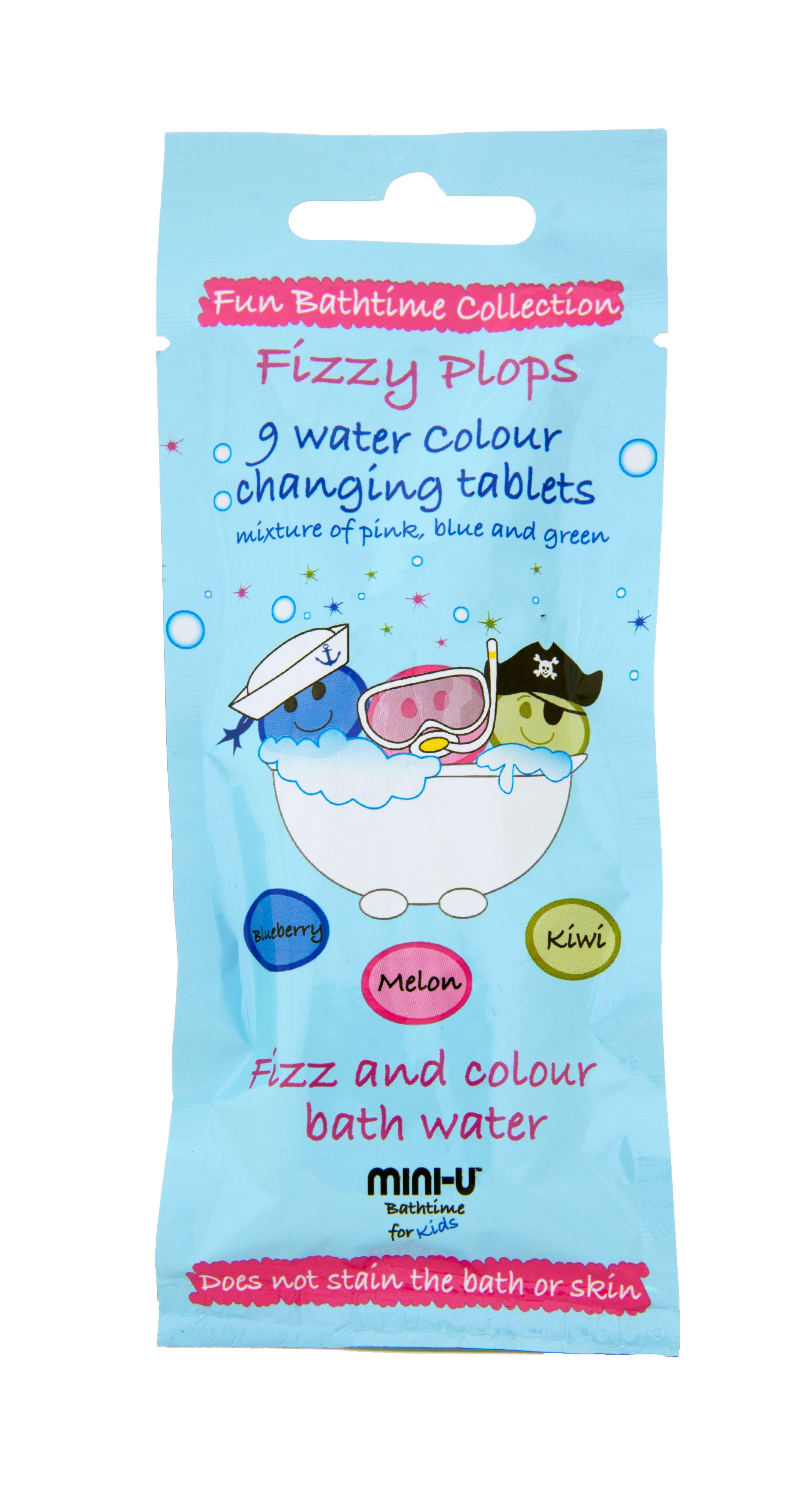 Fizzy Pow Fun Bathtime Box Set - Mini U