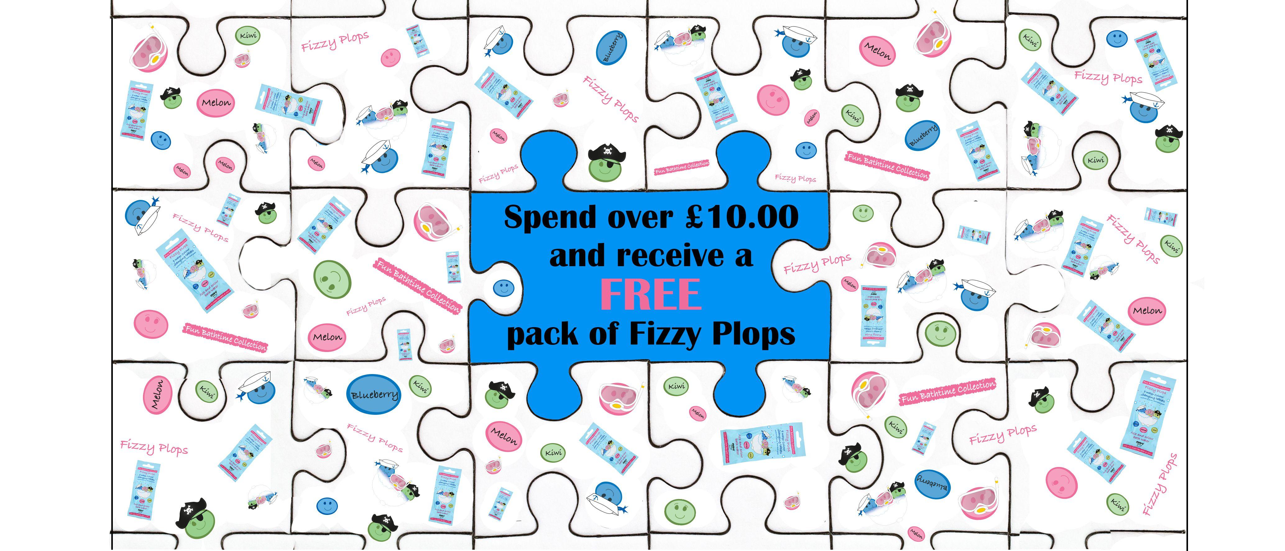 Free-fizzy-Plops-over-£10