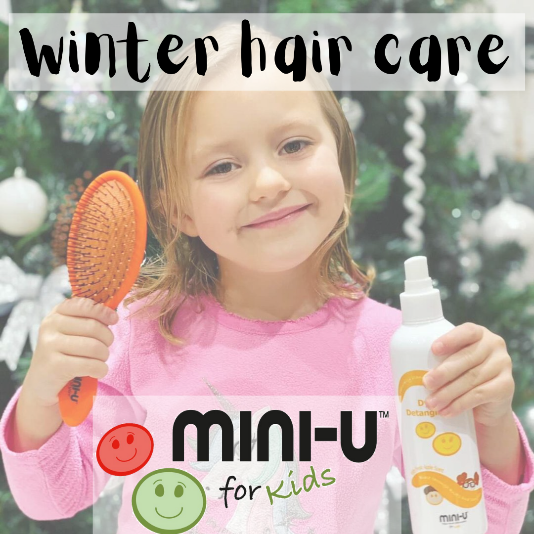Winter hair care from Mini-U for kids